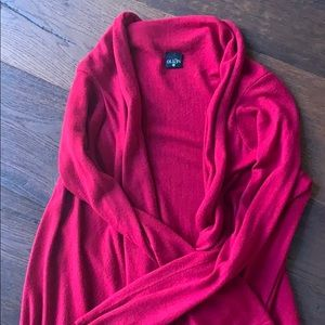 Gorgeous Red Wrap Sweater